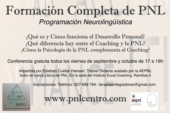 Formación Completa de PNL JPGE